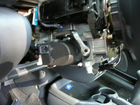 ignition switch location